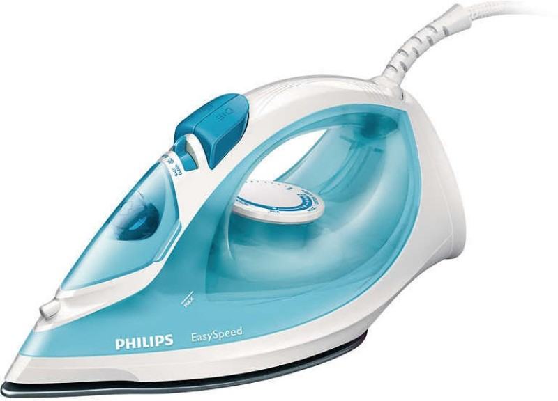 Philips GC1028/20 Steam Iron |2000 W With Indicator Light iron Steam Iron(Blue)