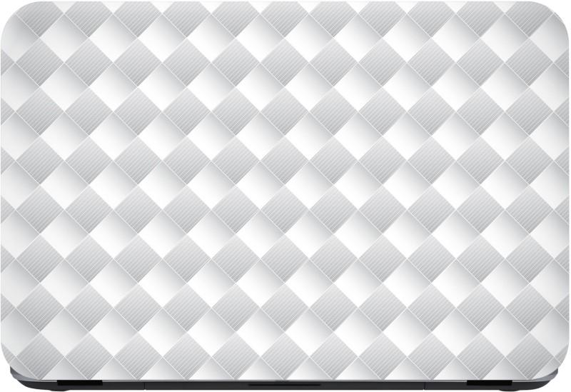 Flipkart SmartBuy white composite Premium LG Vinyl (matte) Laptop Decal 13.3