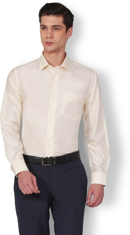 Van Heusen Men Solid Party Shirt