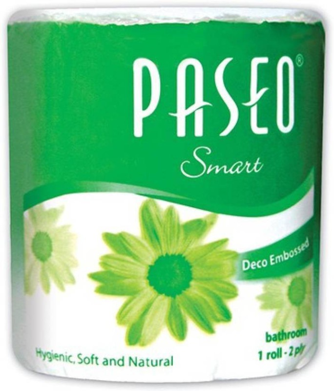 Paseo Smart Toilet Paper Roll(2 Ply, 300 Sheets)