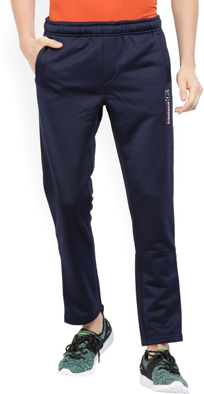 Superdry Solid Mens Dark Blue Track Pants