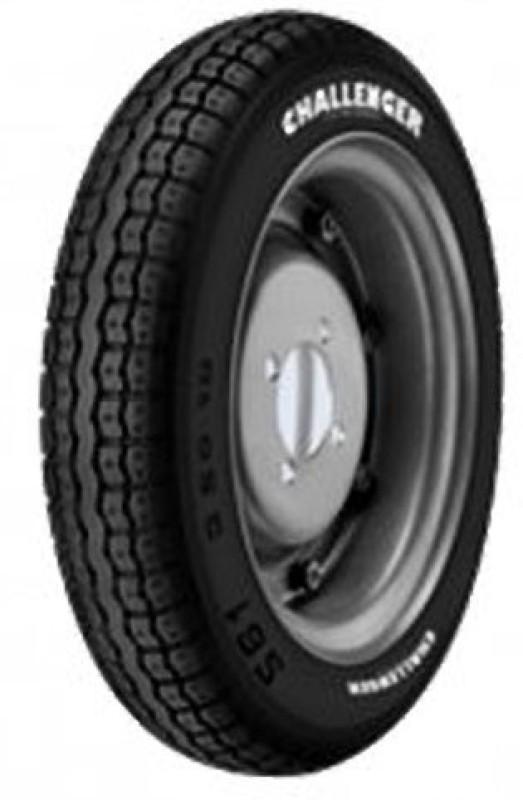 JK Tyre CHALLENGER S61 3.50-10 Rear Tyre(Street, Tube)