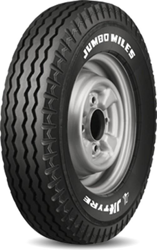 JK Tyre JUMBO MILES AUTO TYRE 4.00-8 Front & Rear Tyre(Street, Tube)