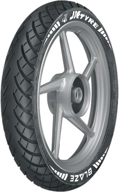 JK Tyre CHALLENGER R81 100/90-18 Rear Tyre(Dual Sport, Tube Less)