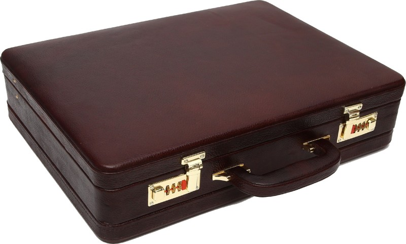 Hammonds Flycatcher Black Forest Large Briefcase - For Men & Women(Brown)