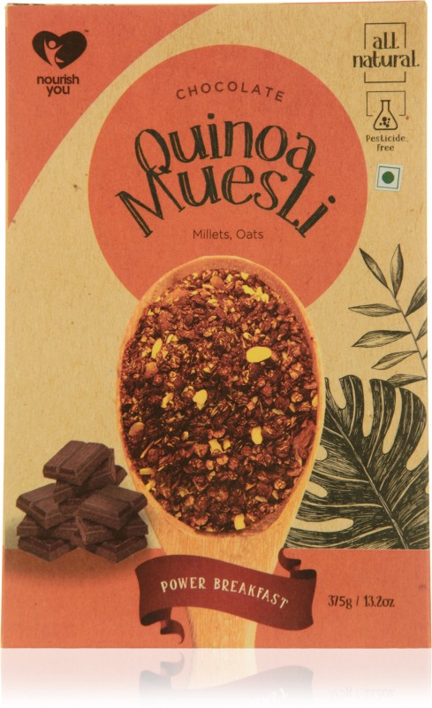 Nourish You Quinoa Muesli - Chocolate(375 g, Box)