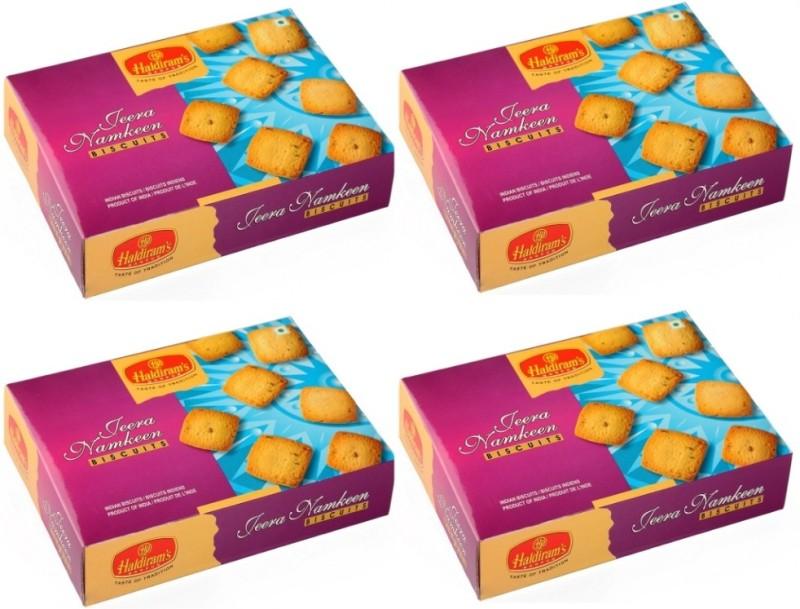 Haldiram's Jeera Namkeen (Pack of 4)(500 g, Pack of 4)