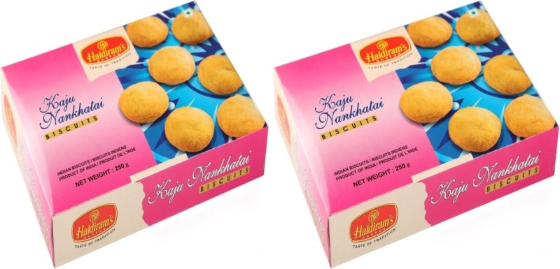 Haldiram's Kaju Nankhatai (Pack of 2)(500 g, Pack of 2)