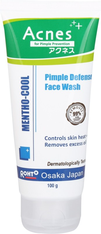 Acnes Mentho-cool Pimple Defense Face Wash(100 g)
