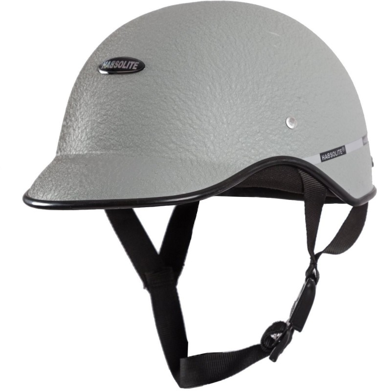 MOTOFY Habsolite Motorbike Helmet(Light Grey)