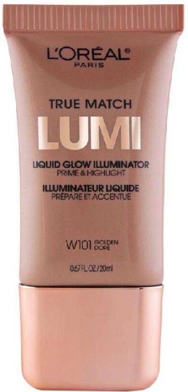 LOreal Paris True Match Lumi Liquid Glow Illuminator Prime Highlighter(W101 Golden)