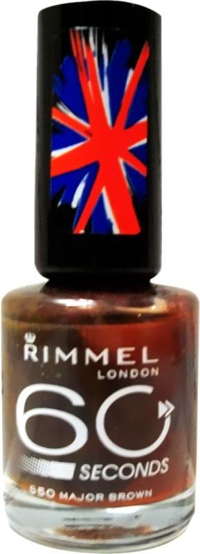 Rimmel 60 Seconds 550 Major Brown(13 ml)