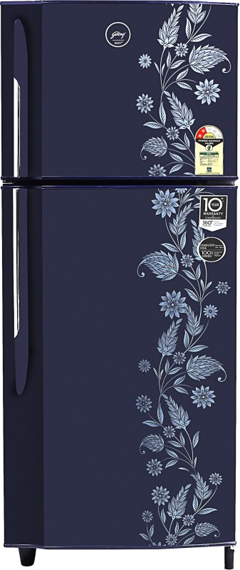 Godrej 236 L Frost Free Double Door 2 Star 2019 BEE Rating Refrigerator(Royal Dremin, RF GF 2362PTH RYL DRMN)