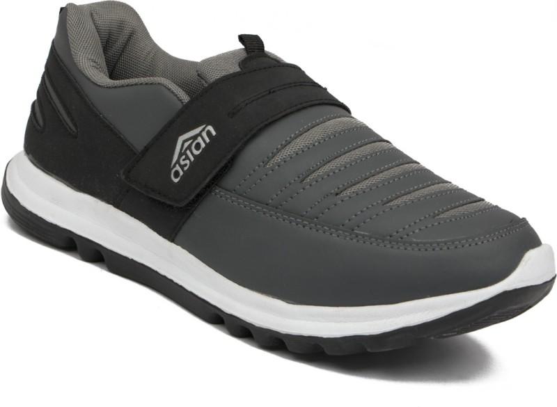 Asian Walking Shoes For Men(Black, Grey)