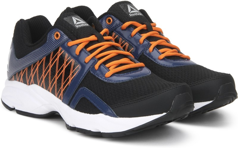 REEBOK SMOOTH FLYER XTREME Running Shoes For Men(Black, Orange)