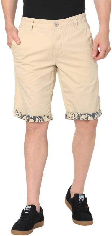 Puma Solid Men Beige Bermuda Shorts