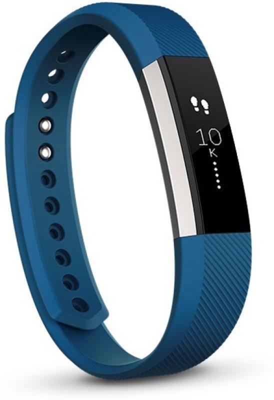 Fitbit Alta(Blue Strap, Size : Small)