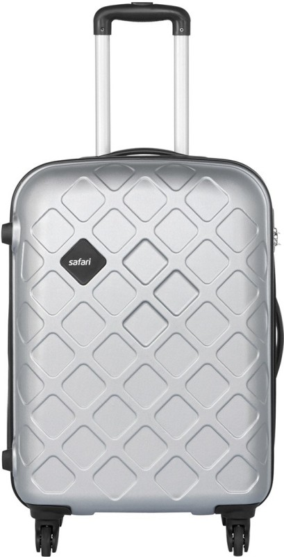 Safari Mosaic Check-in Luggage - 26 inch(Silver)