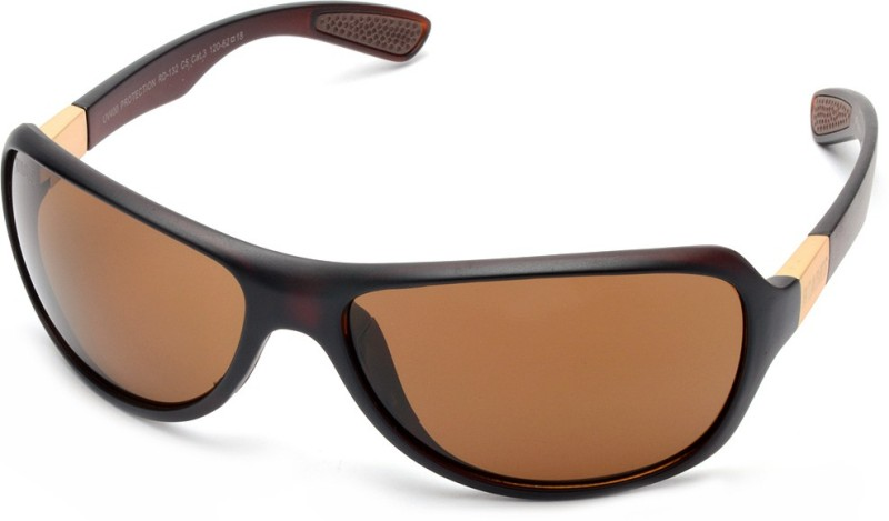 MTV Roadies Sports Sunglasses(Brown)