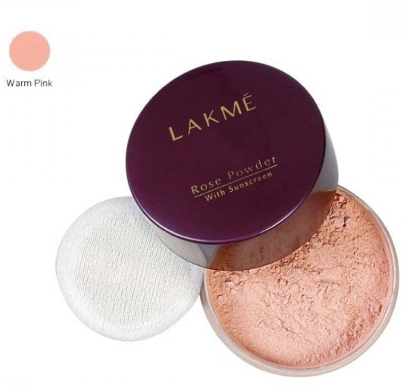 Lakme Rose Powder with Sun Screen Compact - 40 g(Warm Pink)