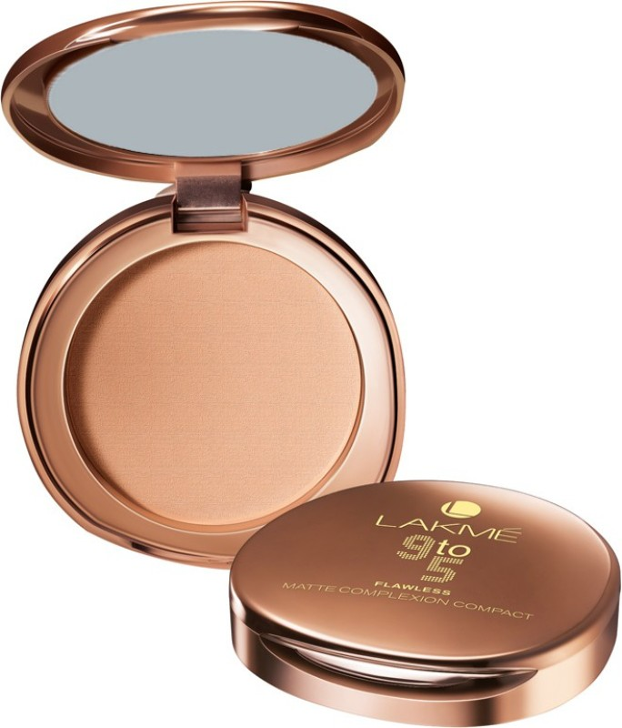 Lakme 9 to 5 Flawless Matte Complexion Compact - 8 g(Almond)