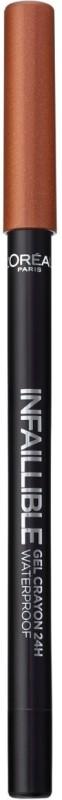 LOreal Infallible Gel Crayon Eyeliner 1.2 g(Super Cooper)