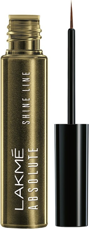 Lakme Absolute Shine Line Eye Liner 4.5 ml(Liquid Gold)