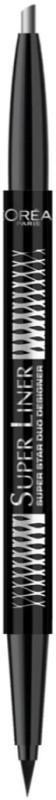 LOreal Super Liner Super Star Duo Designer 0.65 g(Silver)