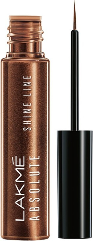 Lakme Absolute Shine Line Eye Liner 4.5 ml(Shimmery Bronze)