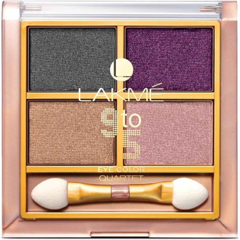 Lakme 9 to 5 Eye Color Quartet Eye Shadow 7 g(Silk Route)
