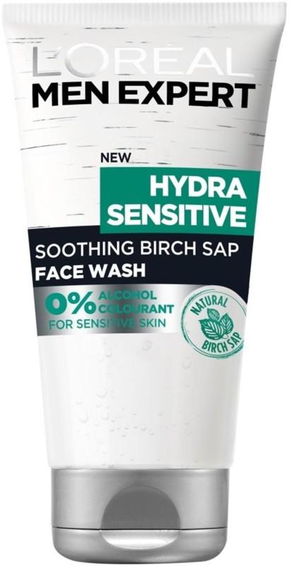 LOreal Paris Men Expert Hydra Sensitive Smoothing Birch Sap Face Wash - 150ml Face Wash(150 ml)