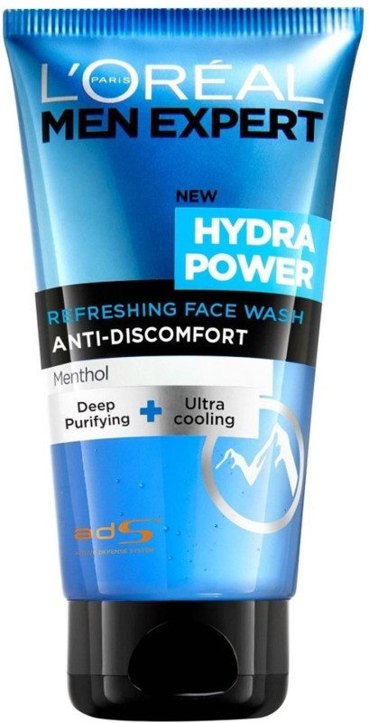 LOreal Paris Men Expert Hydra Power Refreshing Anti-Discomfort Face Wash (Menthol) - 150ml Face Wash(150 ml)