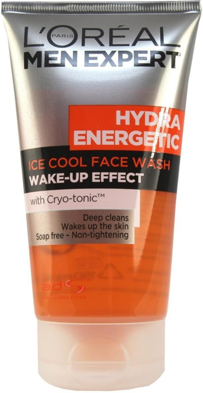 LOreal Paris Men Expert Hydra Energetic Ice Cool Wake Up Effect Face Wash - 150ml Face Wash(150 ml)