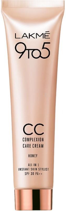 Lakme 9 to 5 Complexion Care Cream SPF 30 PA++ Foundation(Honey, 30 g)