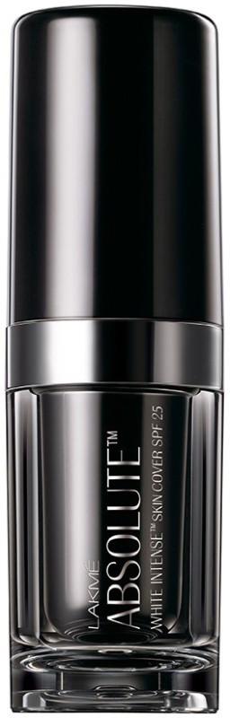 Lakme Absolute White Intense Skin Cover SPF25 Foundation(Rose Fair - 02, 15 ml)