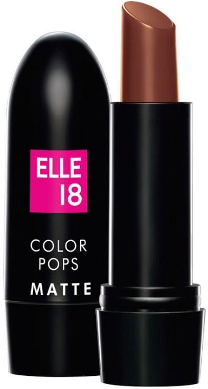 Elle 18 Color Pop Matte Lip Color(Belgian Brown, 4.3 g)