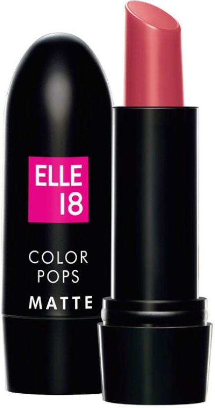 Elle 18 Color Pop Matte Lip Color(Pink Kiss)