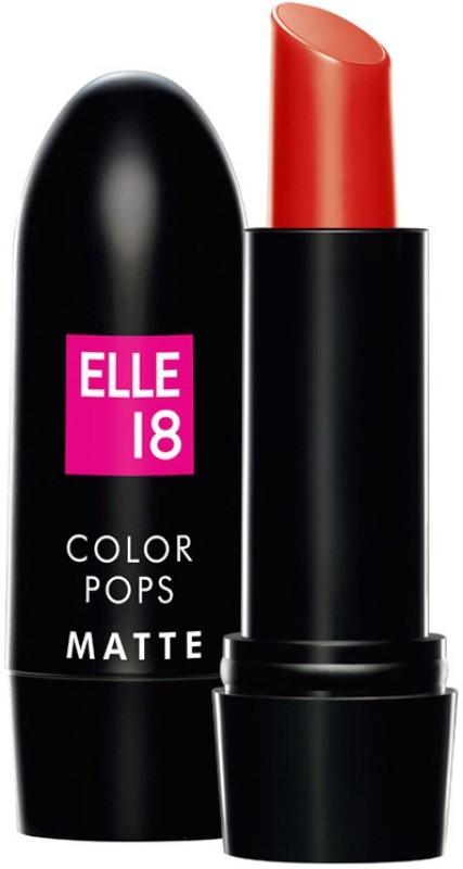Elle 18 Color Pop Matte Lip Color(Rockstar Red, 4.3 g)