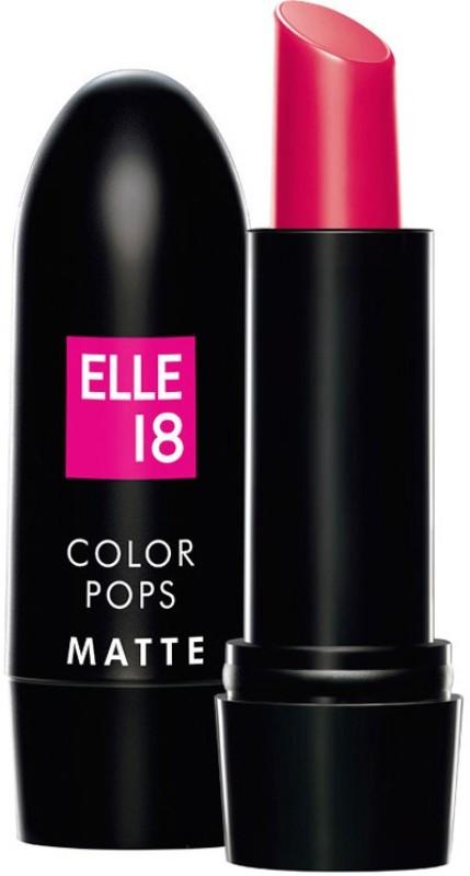 Elle 18 Color Pop Matte Lip Color(Deep Pink, 4.3 g)