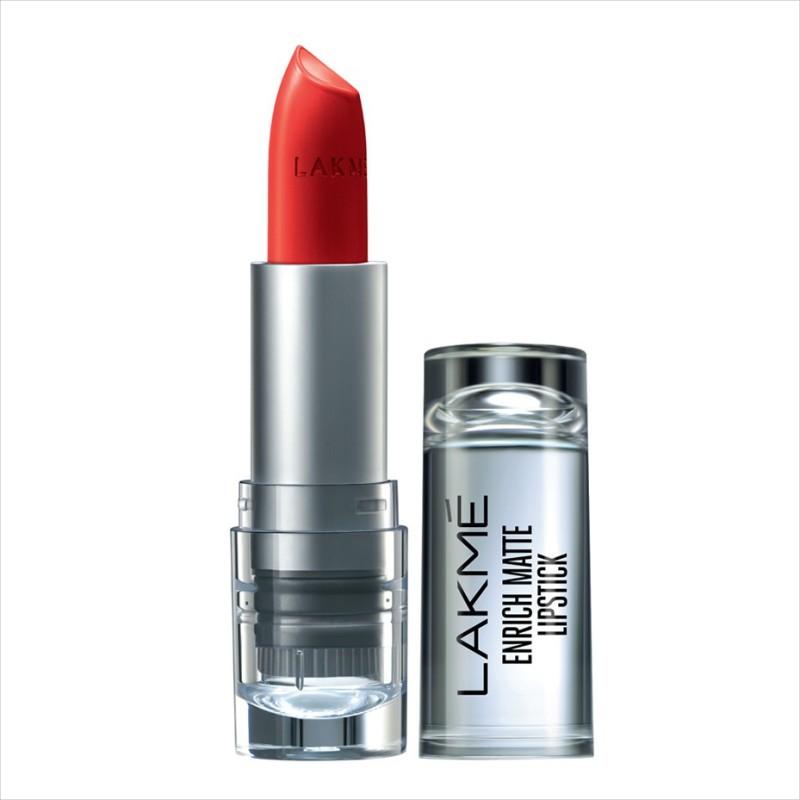 Lakme Enrich Matte Lipstick(Shade RM14, 4.7 g)