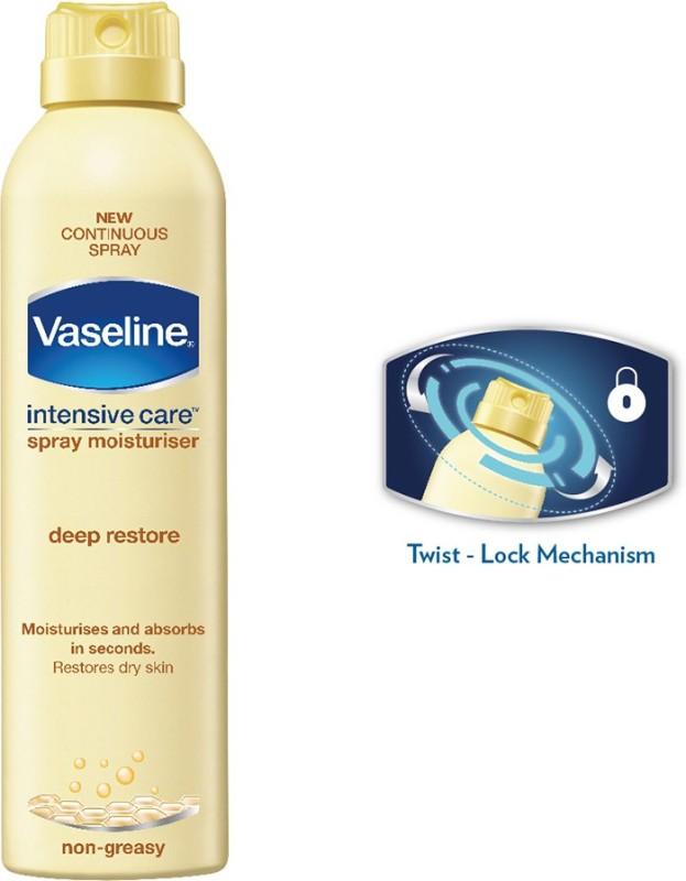 Vaseline Intensive Care Deep Restore Spray Moisturiser(190 ml)