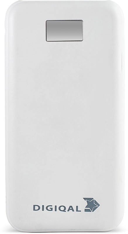 Digiqal 10000 Power Bank (LD10000W, LED Display)(White, Lithium Polymer)