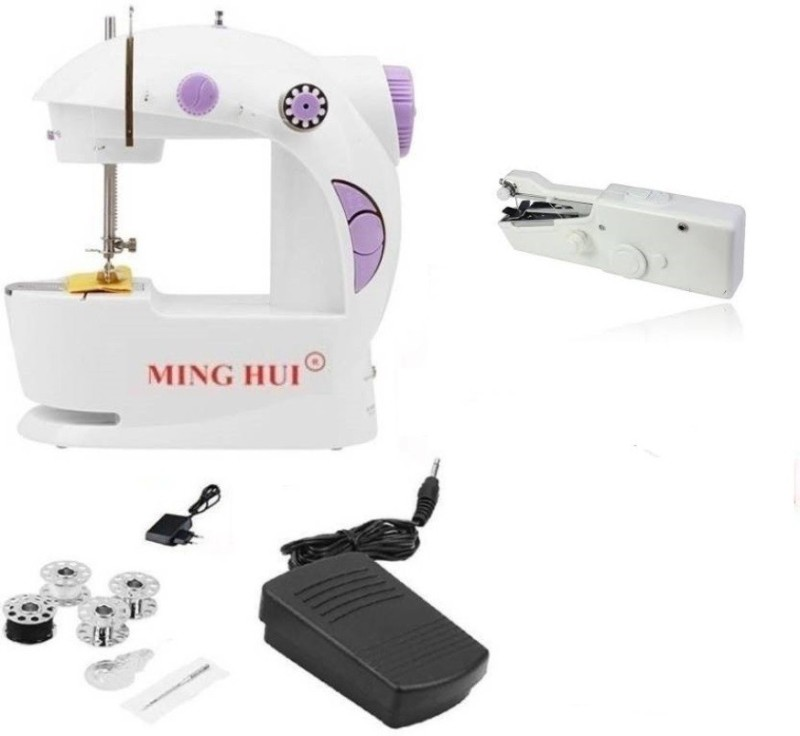 Benison India Mini Portable Smart Tailor Stitch with potable handy stitch Electric Sewing Machine( Built-in Stitches 13)