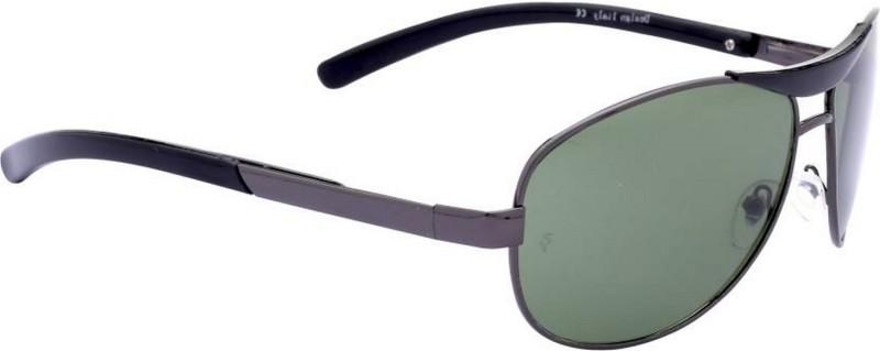 Trendmi Aviator Sunglasses(Green) image