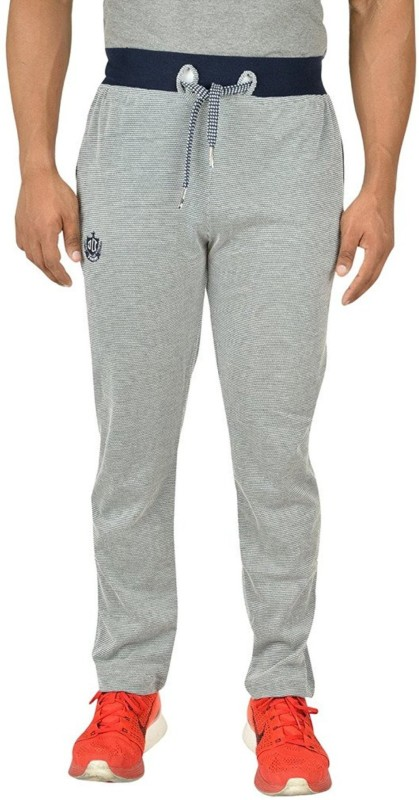 TRINITY JEANS COMPANY Self Design Men's Blue, Grey Track Pants
