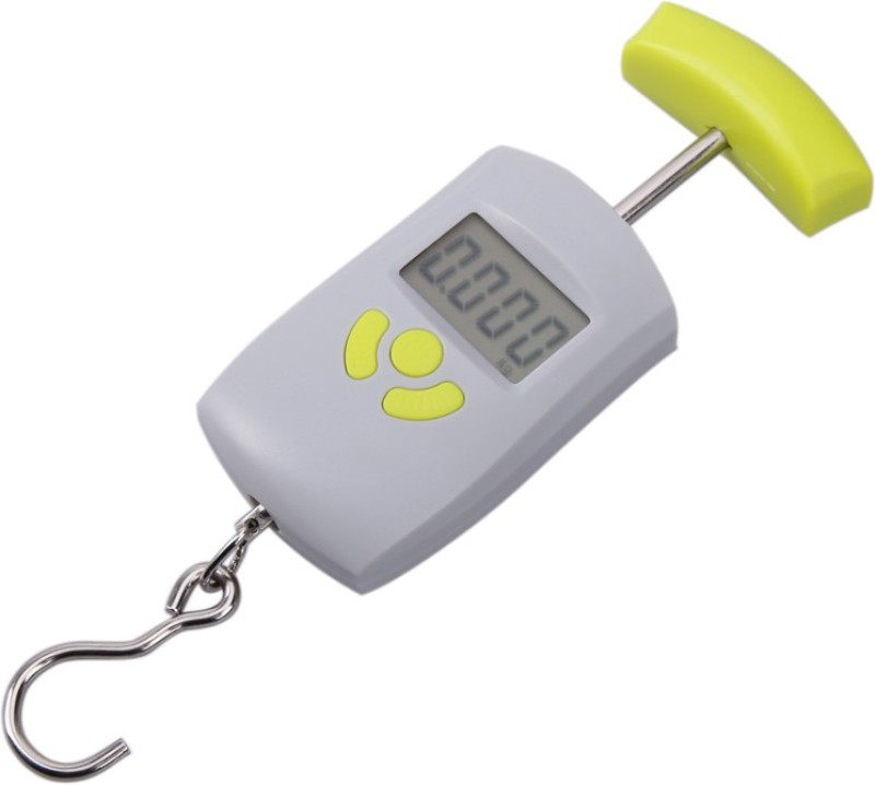MANOGYAM Portable Handheld 50 Kg Electronic Led Travel Luggage Weighing Scale Weighing Scale(Multicolor)