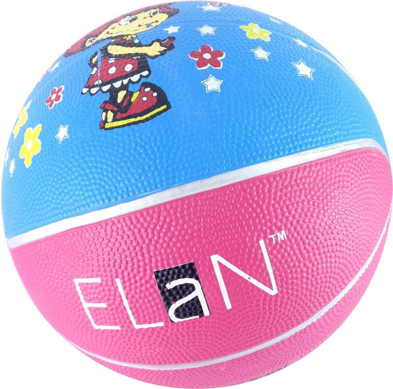 Elan 3-Pink Basketball - Size: 3(Pack of 1, Pink)