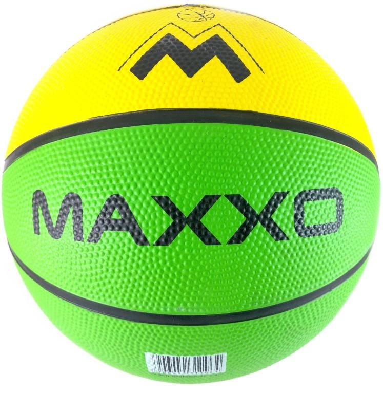 Elan 5-Yellow Basketball - Size: 5(Pack of 1, Yellow)
