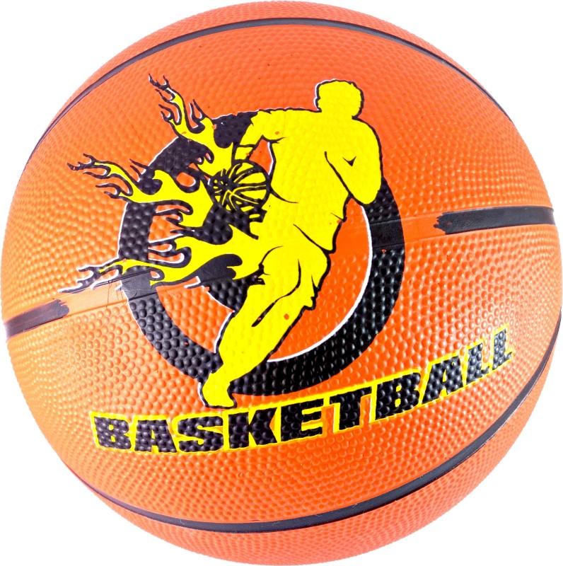 Elan 5-Orange Basketball - Size: 5(Pack of 1, Orange)
