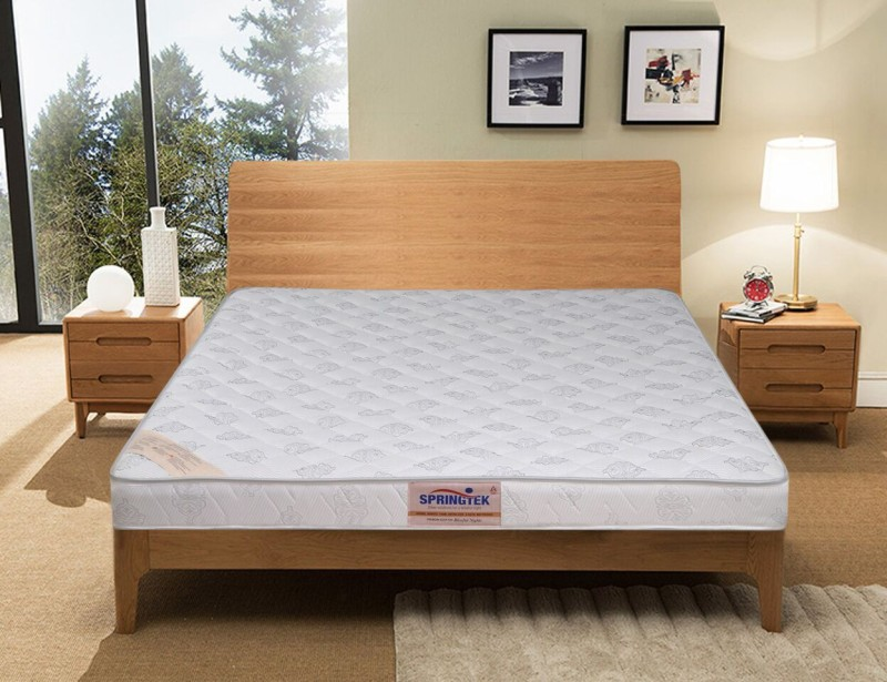 Springtek HealthSpa Orthopaedic 4 inch Single Bonded Foam Mattress